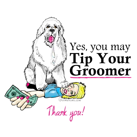 Yes, You May Tip Your Groomer!